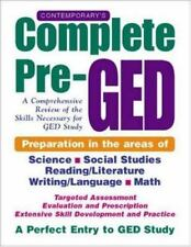 Contemporary's Complete Pre-GED : A Comprehensive Review of the Skills Necessary
