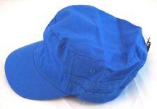 New Womens Golf Cap Blue with Lace Trim Cotton Hat