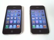 Lot of (2) Apple iPhone 3GS - A1303 - 16GB - Black (AT&T) Good & Fair #2060