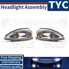 TYC 2X Left + Right Headlight Headlamp Assembly Kit For 2003-2004 Toyota Camry