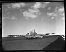 N410 C.1930'S NEGATIVE...AVIATION,AMERICAN AIRLINES DC-3 PLANE AT BOSTON AIRPORT