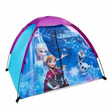 Disney Frozen Pop Up Play Tent For Girls Fabric Elsa Anna In/Outdoors Camping