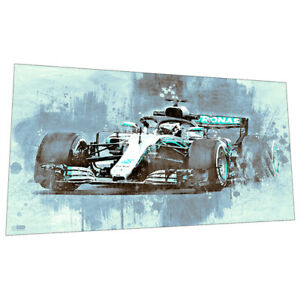 Mercedes Formula 1 Racing car Wall Art Poster