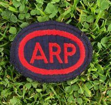 WW2 ARP//CD HM DOCKYARD ROSYTH CLOTH PATCH