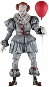 """NECA PENNYWISE IT 18"""" Scale Stephen Kings 1/4 Horror Movie Action Figure"""