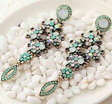 Wholesale Fashion Jewelry Crystal Rhinestone Ear Drop Dangle Stud Earrings 774