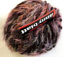 Anny Blatt Nanook #1161 Folk Purple Grey Copper Brown Charcoal Alpaca Wool Yarn