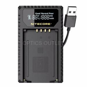 Nitecore ULM240 USB Battery Charger for Leica BP-SCL2 Batteries (M240 Series)