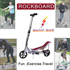 Magic Rockboard Scooter Stand On Exercise Bike Outdoor Trainer No Kick Scooter