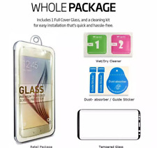 Samsung Galaxy S8 Plus Case Friendly Tempered Glass Screen Protector