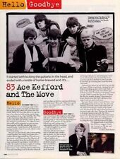 Hello, Goodbye Ace Kefford & The Move Mag Cutting