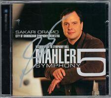 Sakari ORAMO Signiert MAHLER Symphony No.5 CBSO City of Birmingham CD Sinfonie