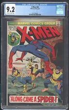 X-MEN 83 CGC 9.2 8/73 SPIDER-MAN CYCLOPS MARVEL GIRL