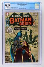 Detective Comics #403 - DC 1970 CGC 9.2 Robin backup story.