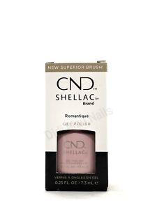CND Shellac UV Gel Polish .25 oz - Romantique