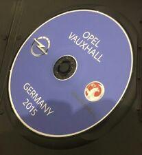 Opel cd70 Deutschland letzte Navigation Map Strassenkarte 2015