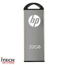 HP v220w 32GB 2.0 USB Flash Drive Solid Metal Design