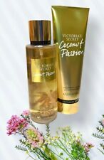 Brand New Victoria's Secret Coconut Passion Set Of Fragance Mist And Lotion