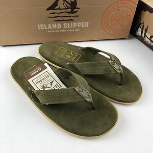 Island Slipper Men's Women's Flip-Flop Sandals Made In Hawaii Shoes
