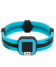 Trion:Z loop Polarized Ionic Braclet Black/Blue - Size: SMALL