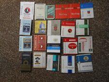 M112--Twenty One Cigarette Packets (Empty) --No Slides----UK SALE ONLY.