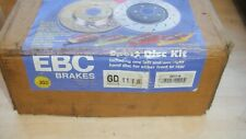 FORD FOCUS MK1 ST170  02..2005 EBC PERFORMANCE SOLID REAR GOLD DISCS P/N GD1116
