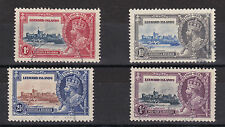 Leeward Islands 1935 KGV Silver Jubilee complete set. VFU. SG 88-91. Make Offer!