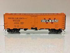 Atlas 9538 Wilson Car Lines 40' Steel Reefer O Scale 2 Rail