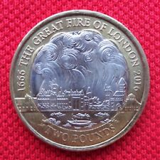 Rare Coin Hunt  THE GREAT FIRE OF LONDON Anniversary  £2 Two Pound Coin  2016
