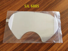 SJL 6885 RESPIRATOR LENS COVER(USE 3M 6800)-25pcs/pack and 3M 6885 Size same