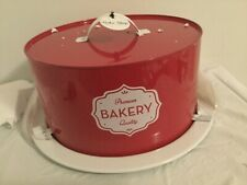 """Amici Home  Bakery Set with Cover 11""""x 5.5"""" New"""