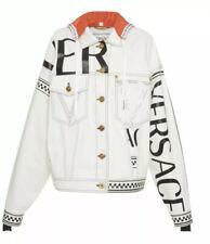 Versace Unisex Denim Jacker (Oversized) Small