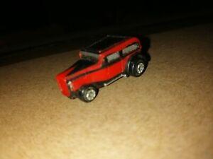 Micro Machines Ford '32 Chopped Custom Insiders Red / Black Galoob 1989