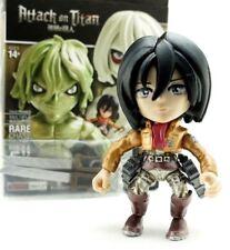 "Loyal Subjects Attack on Titan Mikasa Ackerman Metallic Exclusive 3"" Figure Toy"