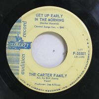 Country Promo 45 The Carter Family - Get Up Early In The Morning / Fourteen Cara