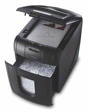 Rexel Auto+ 100M Micro Cut Paper/Credit Card Shredder with 100 Sheet Capacity -