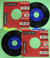 LP 45 7'' MINA Il cielo in una stanza La notte italy ITALDISC MH-61 no cd mc*dvd