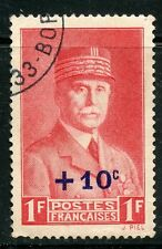 STAMP / TIMBRE FRANCE OBLITERE N° 494 / CELEBRITE / PETAIN