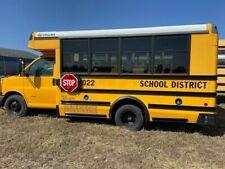 2012 CHEVROLET, 30 PASSENGER SCHOOL BUS