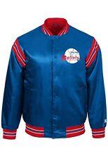 Authentic STARTER Satin Jacket NBA Baltimore Bullets Boys 16/18