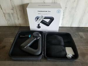 THERAGUN ELITE Black Massager Massage Thera Gun Portable Handheld- FREE SHIPPING