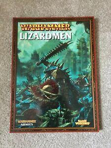 Warhammer Fantasy 7th Edition Lizardmen Army Book