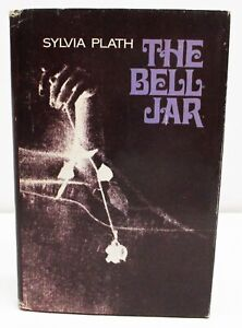THE BELL JAR by SYLVIA PLATH HCDJ BOOK CLUB EDITION