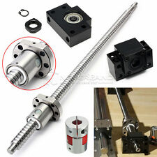 Antibacklash Ball Screw SFU1605 L500mm + 2PCS BK12 BF12 + 6.35x10mm Coupler Set