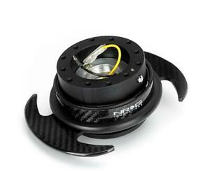 NRG Gen 3 Quick Release System Snap Off Steering Hub CARBON Universal UK NEW