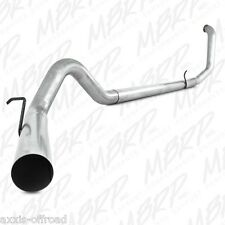 """MBRP 4"""" EXHAUST FITS 99-03 FORD POWERSTROKE 7.3L NO MUFFLER STRAIGHT PIPE DELETE"""