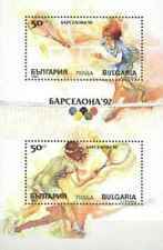 Timbres Sports JO Tennis Bulgarie BF166 ** lot 20349