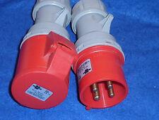 WURTH Fiche prise industrielle 32A 380-415V 3P IP44