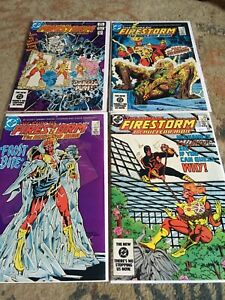 Firestorm The Nuclear Man #18-77 Lot Of 22 DC Comics John Ostrander
