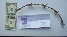 WWII German Barbed Wire From OMAHA BEACH, NORMANDY, DDAY, France, Overlord